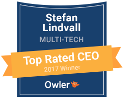 Top rated CEO logo