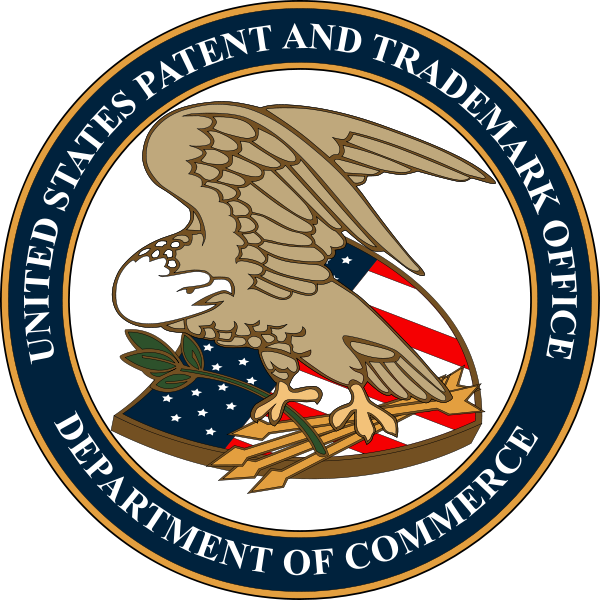 Patent Trademark Office seal