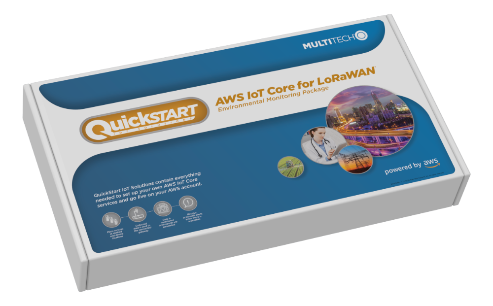 Multi-Tech Systems has introduced QuickStart kit designed to connect to Amazon Web Services (AWS) IoT Core for LoRaWan